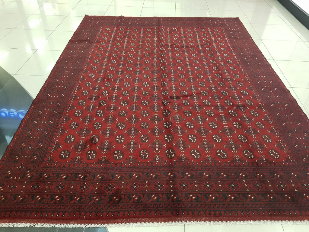 Afghan Beautiful Red Carpet